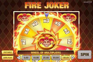 fire joker lykkehjul