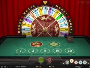 Money Wheel lykkehjul online