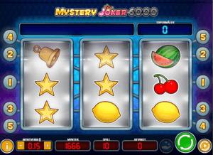 Lykkehjul på Mystery Joker 6000