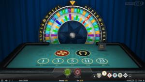Super Wheel lykkehjul fra Play'n GO