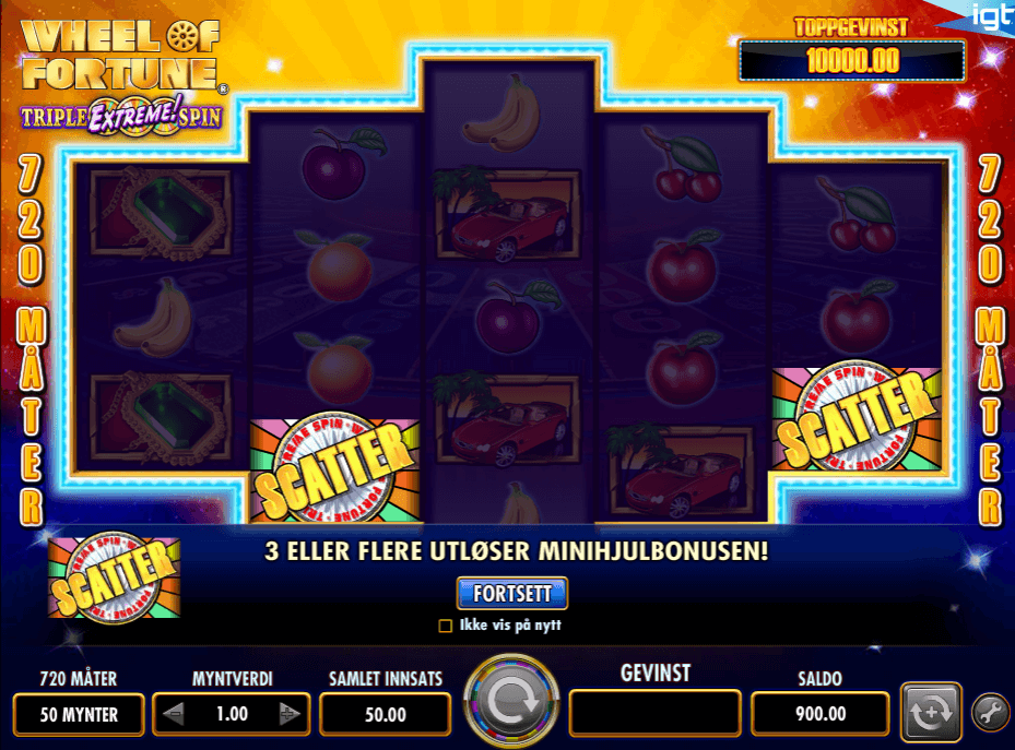 Wheel of Fortune - Tripple Extreme Spin