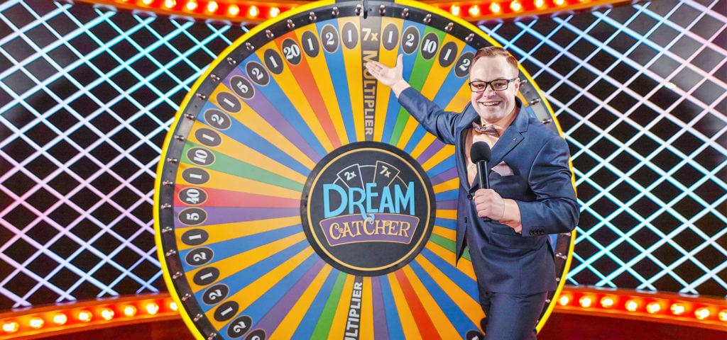 lykkehjul på nett dream catcher lykkehjul online
