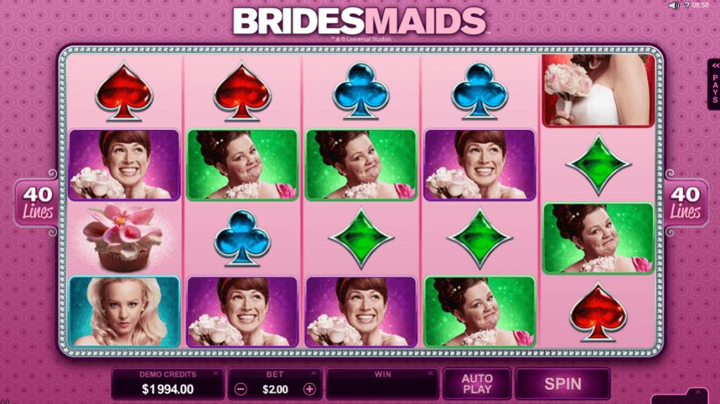 Bridesmaids spilleautomat