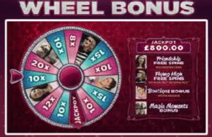 bridesmaids spilleautomat wheel bonus