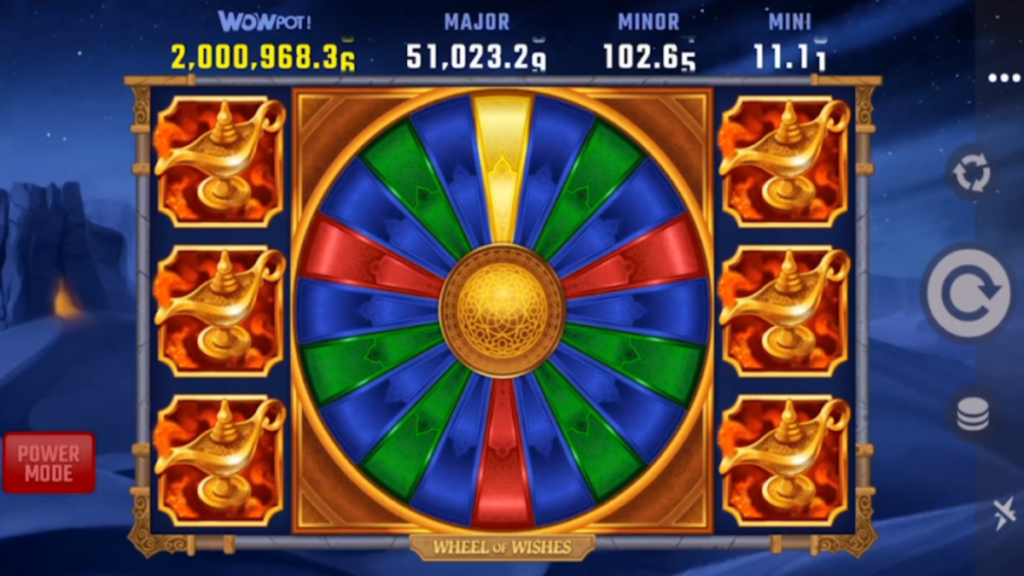 Wheel of Wishes jackpot slot