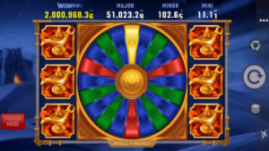 Wheel of Wishes jackpot slot